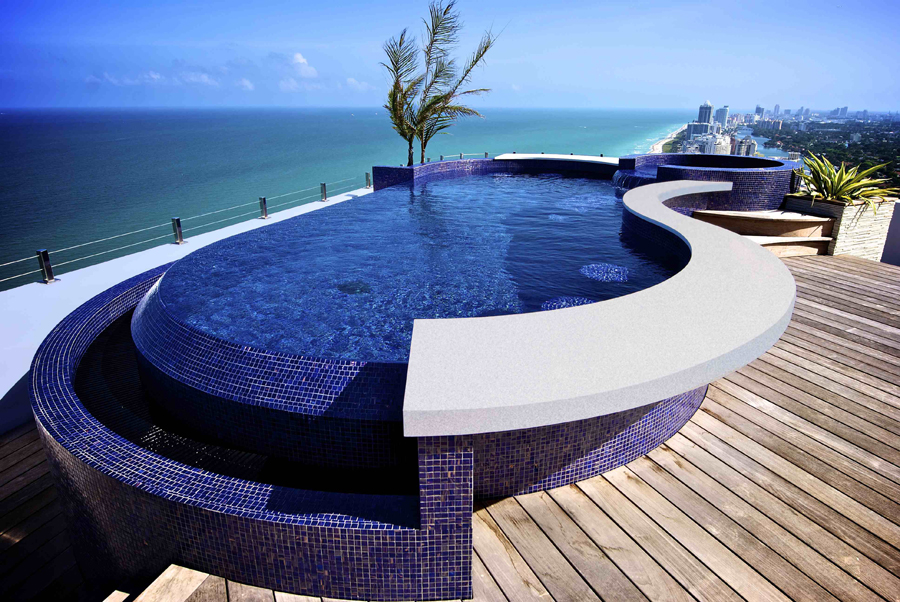 prefabricated stainless steel swimming pools